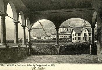 Cartolina Ardesio 1907