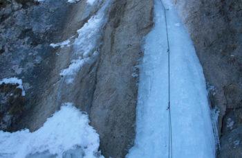 Arrampicata su Ghiaccio nella Valcanale