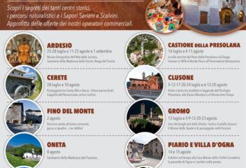 Ardesio: Percorsi Turistici Culturali in Alta Valseriana