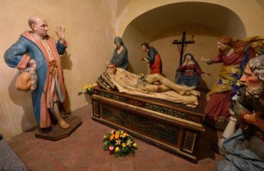 viviardesio santuario Sepolcro Fantoniano Scurolo