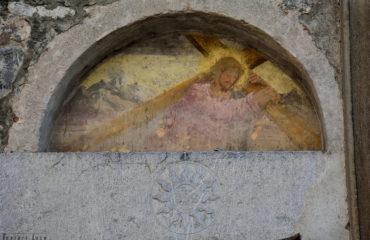 viviardesio tempio di santacaterina santa caterina affreschi