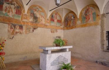 viviardesio ardesio parroccchia Sacello di San Rocco luca festari