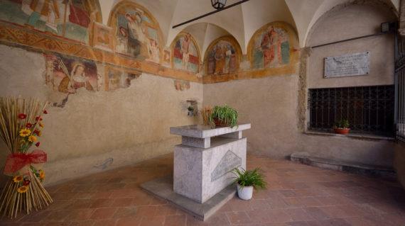viviardesio ardesio parrocchia sacello di san rocco luca festari