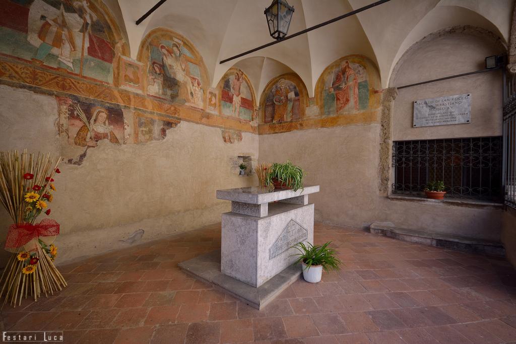 Sacello di S. Rocco, Ardesio