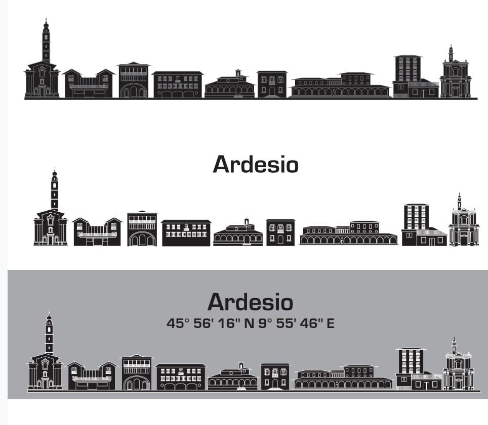 Lo skyline di Ardesio